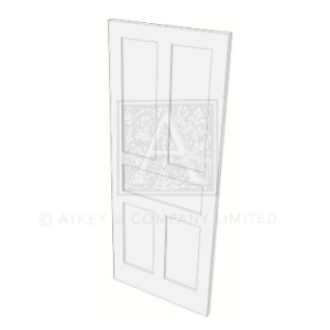 CDR0428 Lennox 5 panel period door