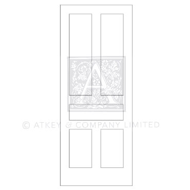 CDR0428 Contemporary door Lennox 2d