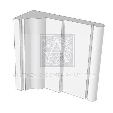 Soane Architrave GARS378 3d design