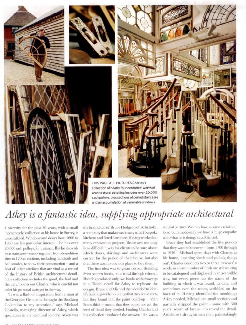 Period joinery article