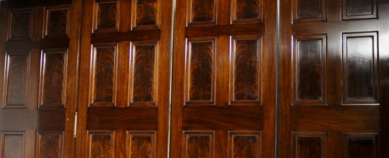 mahogany header for web case study & Fine Polished Mahogany Doors | Atkey and Company