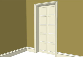 Room Sets & Arts u0026 Crafts doors and mouldings | Atkey and Company
